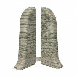 Плинтусы, пороги и комплектующие - Плинтус Идеал 3Д 55 Классик 210 заглушка дуб пепельный , 0