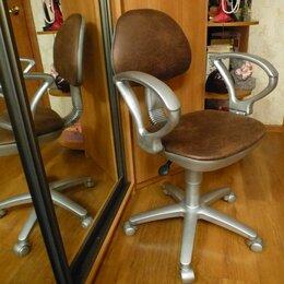 Компьютерные кресла - Кресло офисное новая замша Dublin Burbon., 0
