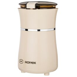 Кухонные комбайны и измельчители - Кофемолка электрическая HOTTEK HT-963-151 айвори, 0