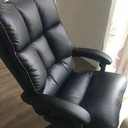 Компьютерные кресла - Кресло компьютерное мягкое удобное, 0