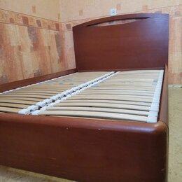 Кровати - Кровать полутороспальная без матраса, 0