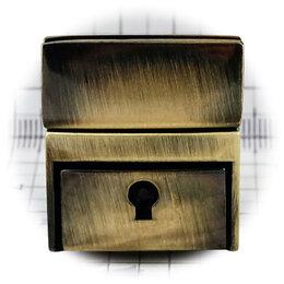 Аксессуары и запчасти - Замок для сумки 162SX с ключом, антик, 0
