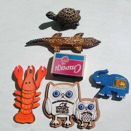 Другое -  Магнитик на холодильник. Фигурки животных.Дерево., 0