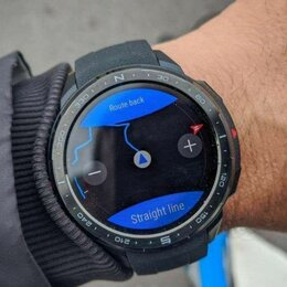 Умные часы и браслеты - Смарт-часы Honor Watch GS Pro Black, 0