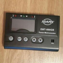 Аксессуары и комплектующие - Тюнер + Метроном Adams EMT-888GB. Доставка, 0