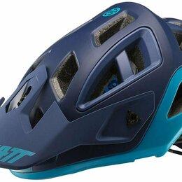 Спортивная защита - Велошлем Leatt DBX 3.0 All Mountain Helmet Blue 2019 (Размер: S 51-55cm), 0
