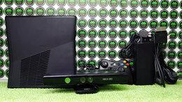 Игровые приставки - Xbox 360 Slim Black Freeboot 1000Gb + Kinect Black, 0