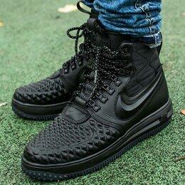 Кроссовки и кеды - Кроссовки Nike Lunar duckboot black color, 0