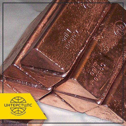 Слиток медный М0к 100х50 мм ГОСТ 431-81 по цене 306₽ - Металлопрокат, фото 0