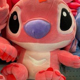 Мягкие игрушки - Мягкая игрушка стич розовый 40см, 0