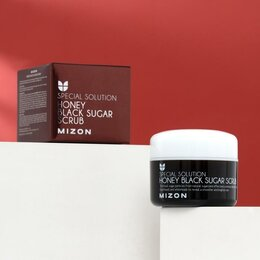 Скрабы и пилинги - MIZON Скраб MIZON с чёрным сахаром, 80 г, 0