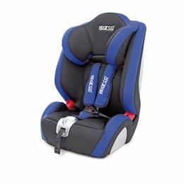 Автокресла - Детское кресло «Sparco»,  группы 1/2/3 (9-36 кг/9 мес-12 лет), полиэстер + объём, 0