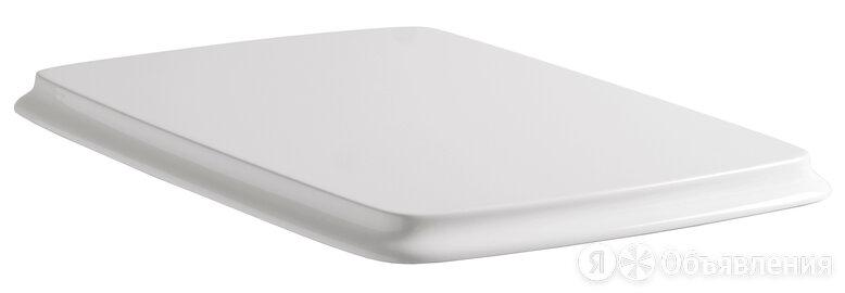 Сиденье ArtCeram Civitas с микролифтом, белое/золото CIA010 01; 73 по цене 18050₽ - Комплектующие, фото 0