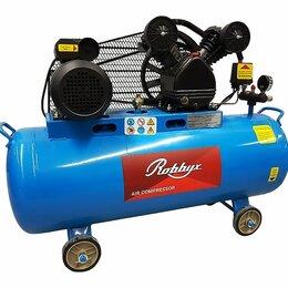 Воздушные компрессоры - Компрессор воздушный Robbyx CB400/100 2200 Вт 100л, 0