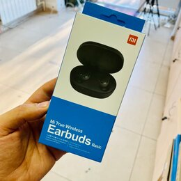 Наушники и Bluetooth-гарнитуры - Беспроводные наушники Mi True Wireless Earbuds Bas, 0