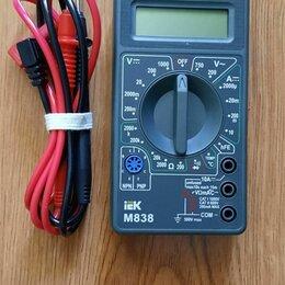 Измерительные инструменты и приборы - Цифррвой мультиметр IEK Universal M 838., 0