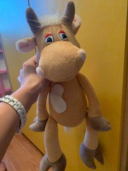 Мягкие игрушки - Игрушка коровка весёлая, 0