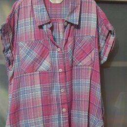 Блузки и кофточки - Клетчатая рубашка, 0
