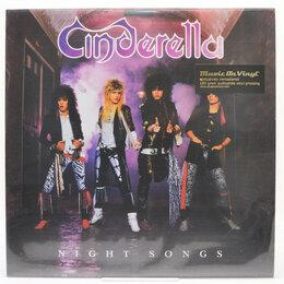 Музыкальные CD и аудиокассеты - Cinderella — Night Songs, 1986, 0