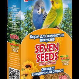 Корма - SEVEN SEEDS Корм для волнистых попугаев стандарт SS0014 , 0