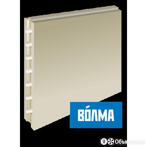 Пазогребневая плита Волма пустотелая влагостойкая 667х500х80 мм по цене 225₽ - Строительные блоки, фото 0
