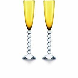 Бокалы и стаканы - Baccarat Набор из 2-х фужеров для шампанского Vega, 0