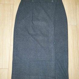 Юбки - Юбки карандаш шерстяная фланель р 48-50, 0