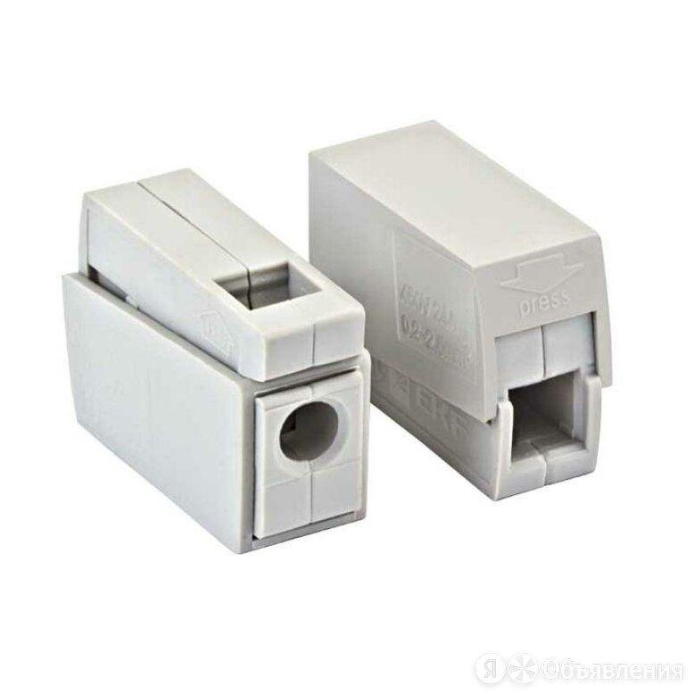 Клемма СМК-111 проходная на 1 проводник 1.0-2.5кв.мм (уп.4шт) PROxima EKF по цене 67₽ - Товары для электромонтажа, фото 0