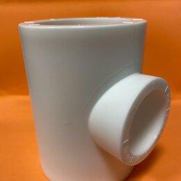 Водопроводные трубы и фитинги - Тройник пп63х40, 0