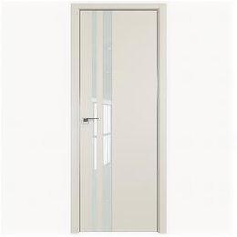 Межкомнатные двери - Межкомнатные двери Profil Doors 16E Магнолия Сатинат Стекло Lacobel Белый лак..., 0