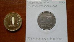 Монеты - ЭКВАТОРИАЛЬНАЯ  ГВИНЕЯ  5 франков 1969 г., 0
