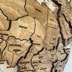 Карта мира на стену, карта мира из дерева  по цене 19500₽ - Гравюры, литографии, карты, фото 4