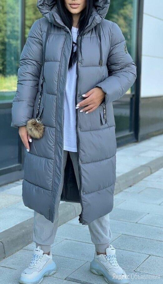 Женская длинная зимняя куртка р-ры 48-60 по цене 4100₽ - Куртки, фото 0