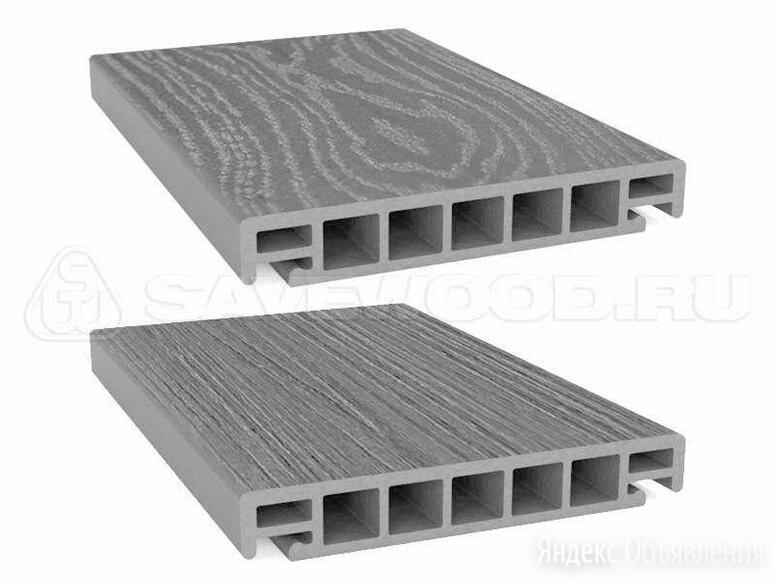 Террасная доска Savewood Salix (S) Серый по цене 2300₽ - Древесно-плитные материалы, фото 0