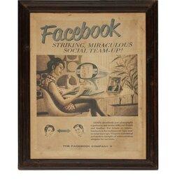 Мозаика - Настенный декор «Facebook» 6094 (Коричневый ), 0