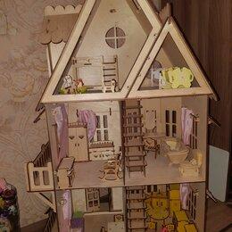 Игрушечная мебель и бытовая техника - Кукольный домик, 0