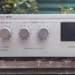 Усилители и ресиверы - Усилитель радиотехника у-101-стерео , 0