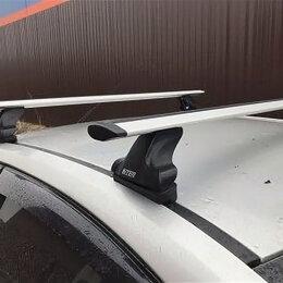 Перевозка багажа - Багажники на гладкую крышу (крепление в штатные места) крыловидные дуги, 0