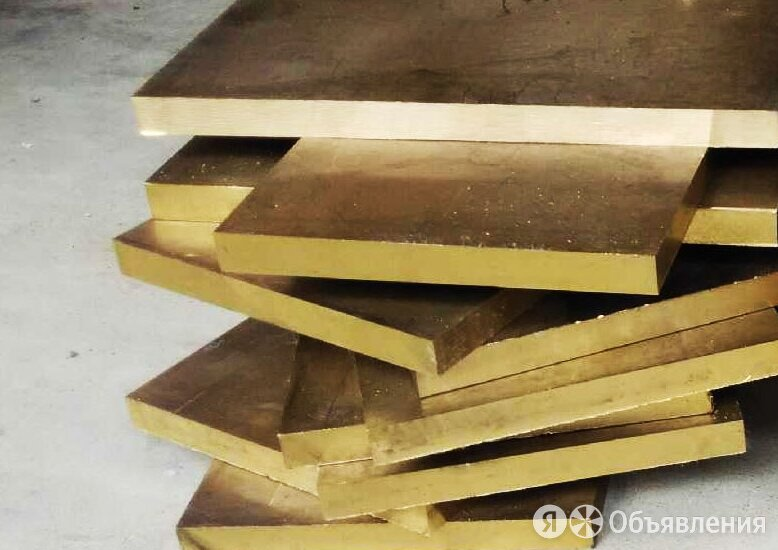 Плита латунная 128х600х1500мм Л63 ГОСТ 2208-2007 по цене 440₽ - Металлопрокат, фото 0