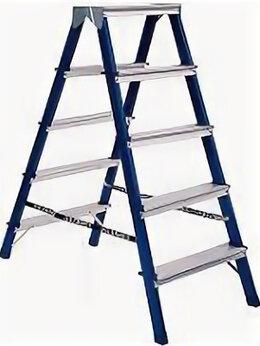 Лестницы и стремянки - Лестница стремянка  двухсторонняя 5 ступ 1,17 м…, 0