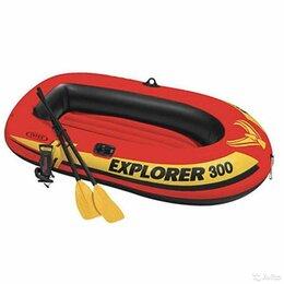 Надувные, разборные и гребные суда - Лодка надувная intex Explorer 300, 0