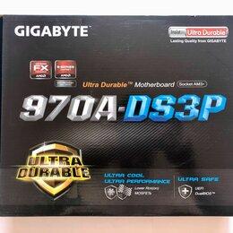 Материнские платы - Материнская плата Gigabyte GA-970A-DS3P (rev. 2.1), 0