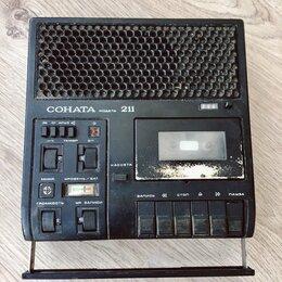 Музыкальные центры,  магнитофоны, магнитолы - Магнитофон Соната 211, 0