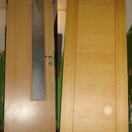 Межкомнатные двери - 2 дверных полотна межкомнатных дверей, 0