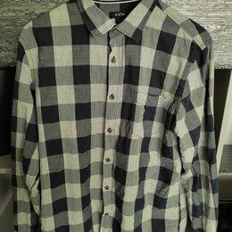Рубашки - Мужская рубашка в клетку, 0