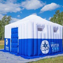 Палатки - Надувное здание с прямыми стенами / пневмопавильон, 0