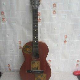 Акустические и классические гитары - Гитара семиструнная. Фабрика им. Луначарского., 0