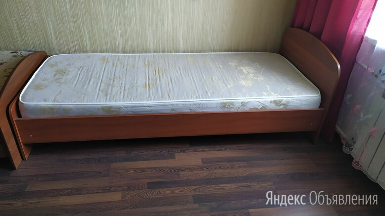 Кровать односпальная с матрасом 195х80 С матрасом Аскона по цене 3499₽ - Кровати, фото 0
