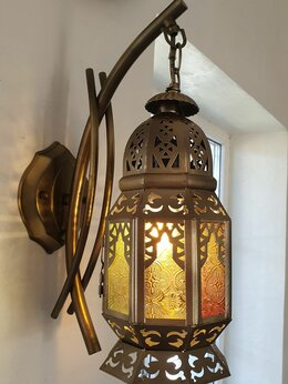 Настенно-потолочные светильники - Марокканские светильники бра потолочные, 0