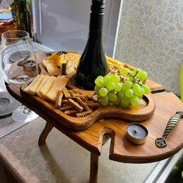 Столы и столики - Винный столик из натурального дерева , 0